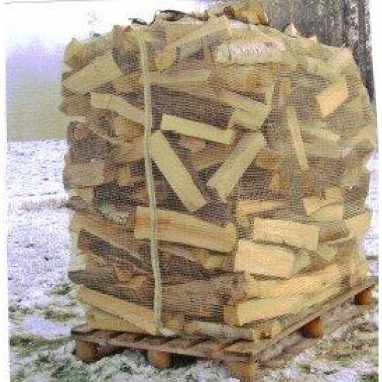 #TM88BUUV BAG FOR 1 PREPACKED FIREWOOD WITH UV <br>53.15X88.66